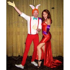 Pin for Later: 13 Couples Costumes Straight Out of the '80s Roger and Jessica Rabbit