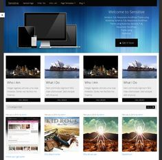 Pro Class WordPress Theme for Free - Sensitive - Responsive WordPress Theme - Boxed homepage with custom header background Responsive Grid, Responsive Layout, Premium Wordpress Themes, Wordpress Org, Web Inspiration, Clean Design, Web Development, Different Colors, Color Schemes