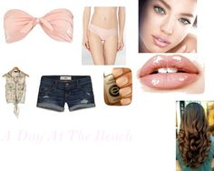 """""""A Day At The Beach"""" by crystalblack6 on Polyvore"""