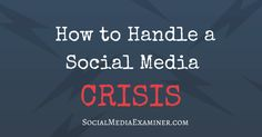 Would you know what to do in case of an SM emergency? Read this via @smexaminer For more information about Social Media Management and Online Reputation Management visit www.teenabrowndigitalmarketing.com