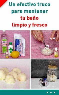 Este es un efectivo truco para mantener tu baño limpio y fresco. ¡Olvidarás los malos olores! #limpieza #baño #malolor #fresco