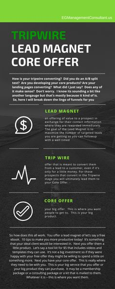 Tripwire Lead Magnet Core Offer Business Advice, Business Quotes, Lead Magnet, Email Campaign, Email Marketing, How To Make Money, Core, Newsletter Design, Organizing Tips