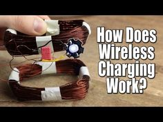 How Does Wireless Charging Work? || Crude Wireless Energy Transfer Circuit - YouTube