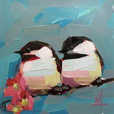 by prattcreekart on Easy #chickadee #art