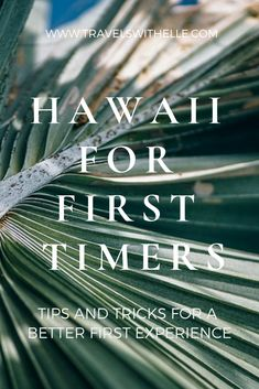 Oahu Hawaii: Top Tips For First Timers - If you're looking for recommendations on things to do/see/eat or just searching for general tips to make your first trip better, read on!