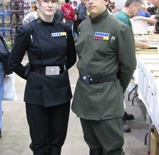 Star Wars Imperial Officer Costume, I think the woman in the picture is my children's pediatrician!