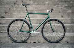Green Cannondale Track