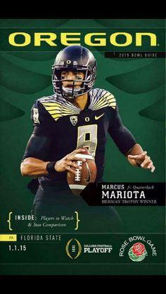 """""""SHE'S GOT Orє❡On ᎠucҜs'S FEVER ☝GO DUCKS. . ."""" Oregon Ducks Marcus Mariota."""