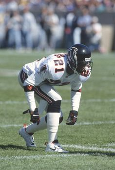 Defensive back Deion Sanders of the Atlanta Falcons 1993 Falcons Football 76d8aaf49