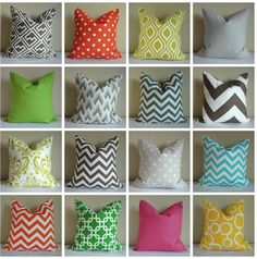 18x18 Pillow Covers!