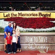 How to Save on Your Next Trip to Disney #travel #disney