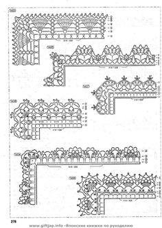 Crochet edging - Donna Taylor - Picasa Web Albums