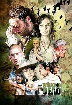 Walking Dead Season 2 Artwork