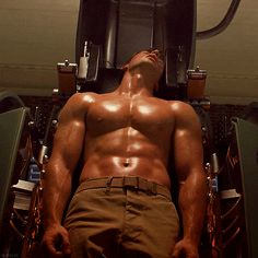 """The first Avenger is a natural leader, a kindhearted and trusting hero whose real power is his hot, hot abs. I MEAN his ability to fight for goodness or something. 