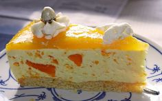 Sour cream citrus gateau The post Sour citrus cake by Dragonfly-Lady Pudding Desserts, Cheesecake Desserts, Pudding Cake, Lemon Desserts, No Bake Desserts, Dessert Recipes, Muffin Recipes, Baking Recipes, Cheese Cake Receita