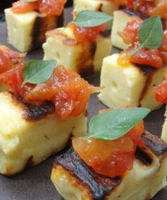 Chutney de Tomate com Queijo de Coalho