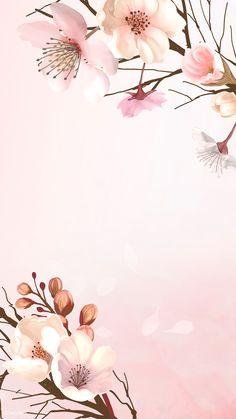 Flower Background Wallpaper, Flower Phone Wallpaper, Flower Backgrounds, Background Patterns, Wallpaper Backgrounds, Iphone Wallpaper, Background Banner, Pastel Wallpaper, Background Pictures