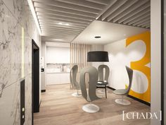 74 Castlereagh Street, Sydney, Australia. Office Space Interior Design by Chada. @chada.interiorarchitecture Ceiling Texture, Textured Ceiling, Commercial Office Space, Office Floor, Office Suite, Space Interiors, Marble Wall, Retail Space, Flooring