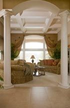 Love the ceiling! Decor, Home, Custom Built Homes, Curtains, Home Builders, Local Builders