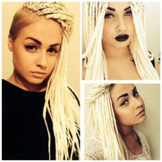 Box braids white
