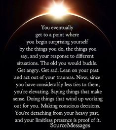 This is 100 spot- on. It's hard to just reverse this mindset when you've had this happen all your life - and I realize it's where my thought process is coming from Spiritual Awakening, Spiritual Quotes, Spiritual Growth, Enlightenment Quotes, Spiritual Health, Spiritual Guidance, Inspirierender Text, Laws Of Life, A Course In Miracles