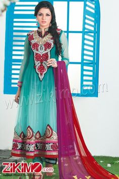 Florid Designer Anarkali Salwar Suit