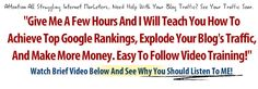 Jay's Blogging For Money Affiliate Training Course  A Newbies Dream Course For Anyone Serious About Working From Home!    Check this out it is awesome!