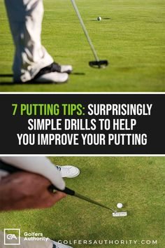 Well have gathered the best putting tips and drills that will that will help you drop more putts and get more birdies when out on the curse. Outdoor Putting Green, Volleyball Tips, Golf Practice, Golf Chipping, Golf Exercises, Workouts, Golf Instruction, Golf Training, Golf Outfit