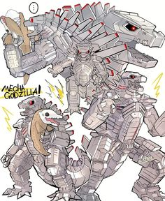 Godzilla Suit, King Kong Vs Godzilla, Godzilla Vs, All Godzilla Monsters, Godzilla Comics, Dinosaur Time, Aliens, Godzilla Wallpaper, Creature Design