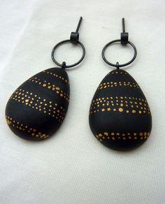 Pilar Cotter: septiembre 2010 porcelain earrings