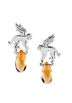 Flying Monkey Earrings