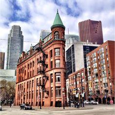 Flat iron building - downtown Toronto
