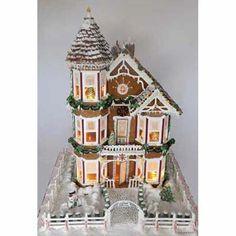 Photo: Gerhard P./ youroldhouse.thisoldhouse.com | thisoldhouse.com | from 2009 Gingerbread House Contest Winners