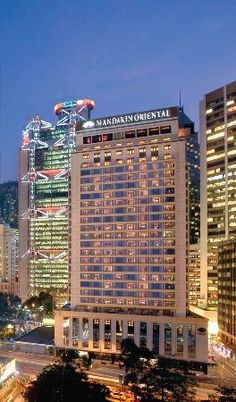 Mandarin Oriental, Hong Kong. Joshi and kaora got married here