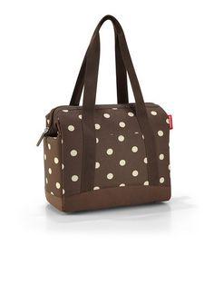Reisenthel Allrounder Plus  Mocha Dots Cabin Bag 8dfb9dc8def44