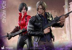 Hot Toys est fiers de vous présenter les figurines de collection Hot Toys Resident Evil échelle 1/6 des personnages Ada Wong et Leon S. Kenedy.