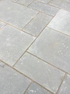 Livingstone Hand Cut Dove Grey Limestone | Westminster Stone Slate Paving, Limestone Paving, Flagstone Flooring, Patio Slabs, Flagstone Patio, Garden Paving, Terrace Garden, Garden Paths, Patio Design