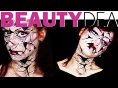 Trucco Creepy Doll: Bambola rotta per Halloween - http://www.beautydea.it/trucco-creepy-doll-bambola-porcellana-rotta-halloween/ - Guarda il video tutorial e scopri come creare un make up da bambola di porcellana rotta per Halloween!