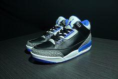 AIR JORDAN 3 RETRO SPORT BLUE BLACK 398614 007 $159
