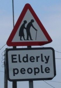 Elderly people have been a menace for years and I'm glad we are finally being warned about their slow road crossing ways