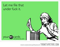 Let me file that... - The Meta Picture