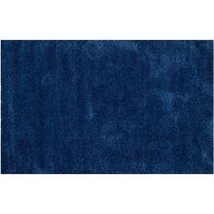 Safavieh Milan Solid Shag Rug, Blue