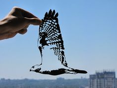 Single Sheets of Paper Form Delicate Silhouettes by Dmytro and Iuliia