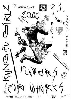 papírna plzeň / HC poster / FFW/KG/D 2017 / design > lukáš beran / silkscreen