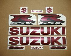 Blechschild 30 X 20 cm Suzuki GSX-R 1000 R 2005