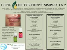 Herpes Cure 2019 News - Proven Herpes Type 1 and Type 2 (HSV Oral and Genital Herpes Cure. How to Get Rid of Herpes? Find Out How! Essential Oils For Herpes, Essential Oil Uses, Herpes Remedies, Young Living Oils, Young Living Essential Oils, Yl Oils, Healthy Oils, Essential Oils, Aromatherapy