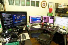 home computer setup - Google Search