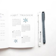 """566 Likes, 12 Comments - [ Amalie ] (@northernplanner) on Instagram: """"My habit tracker for this month, hope I do it better this month, last month was a disaster • • •…"""""""