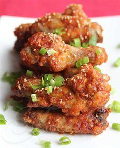 Un-Fried Korean Chicken Wings