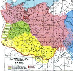 slowianie X wiek Old Maps, Historical Maps, Cartography, Middle Ages, Diagram, World, Dna, Ukraine, Vikings